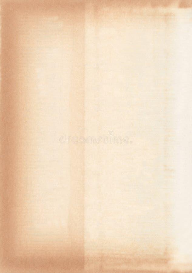 Papier âgé et souillé illustration de vecteur