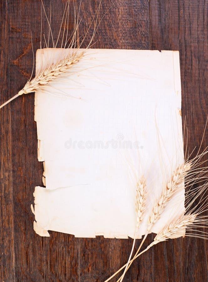 Papier & żyto zdjęcia stock