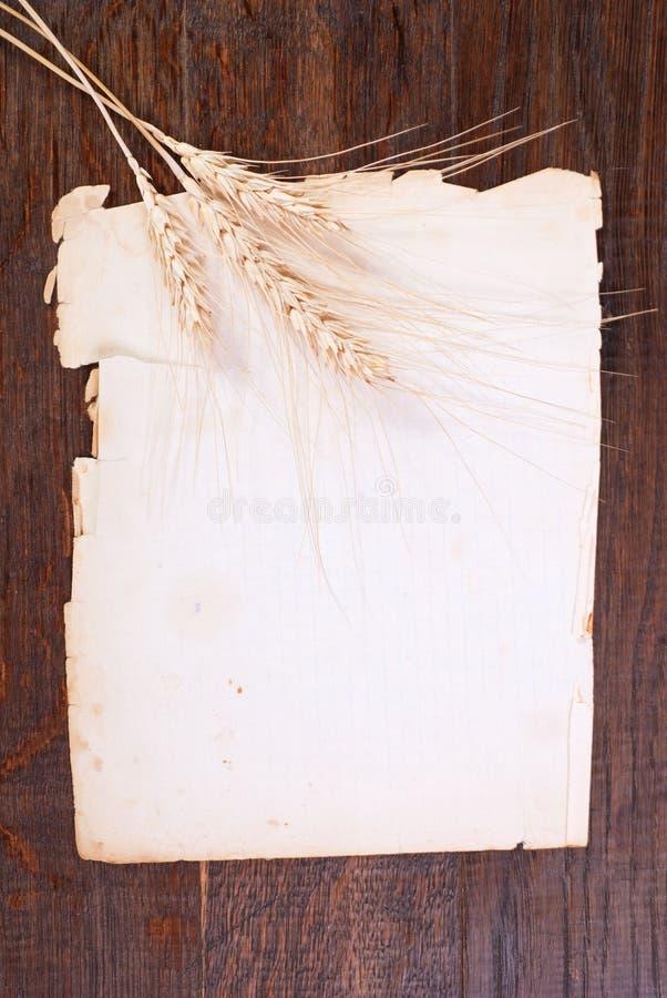 Papier & żyto zdjęcie stock