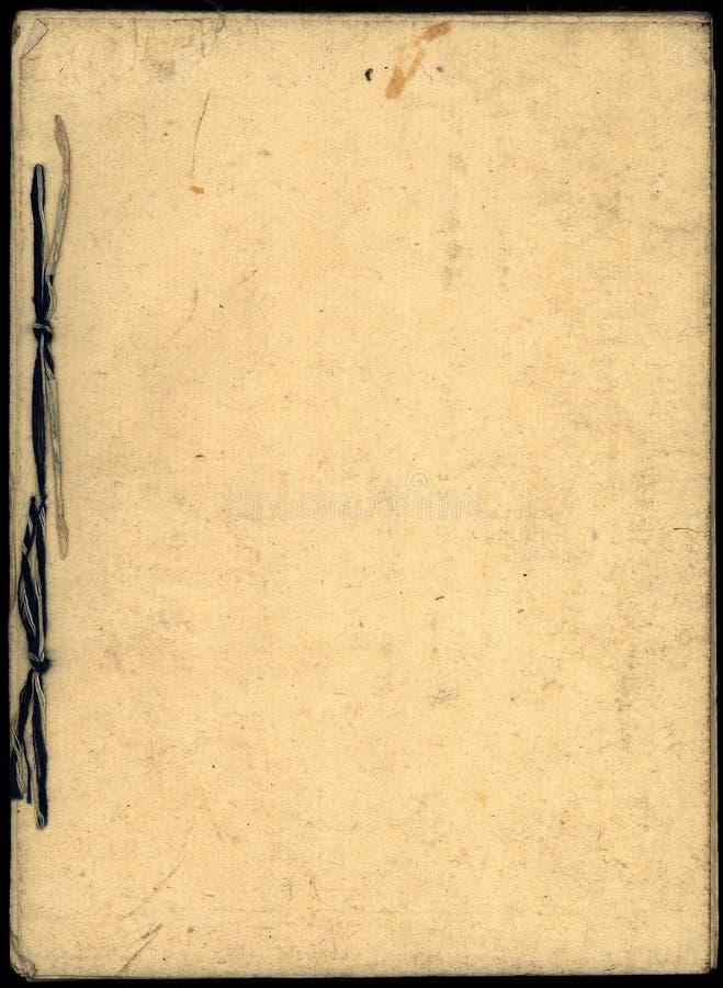 Papier 01 de livre japonais image libre de droits