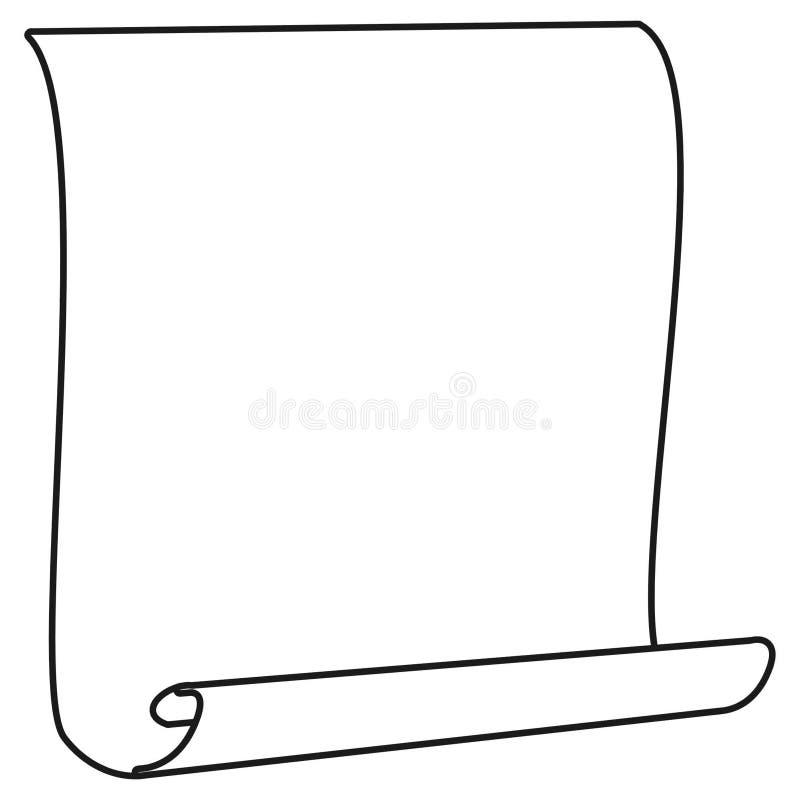 Papier illustration stock