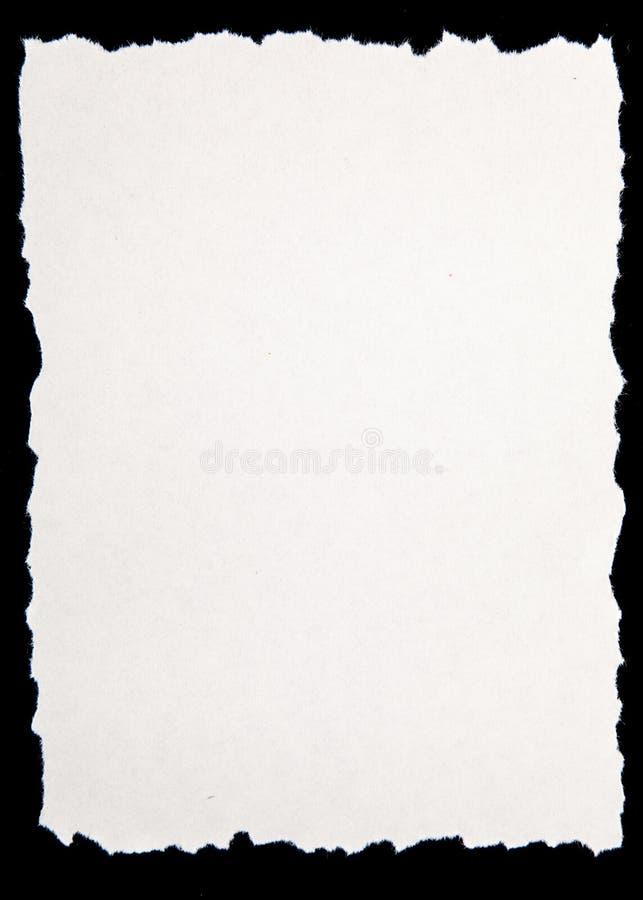Papier photographie stock