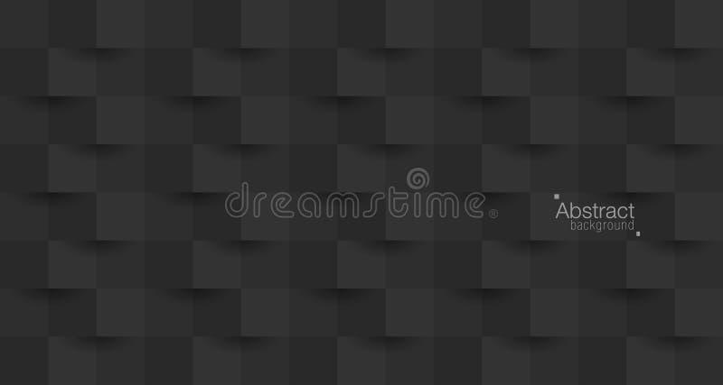 Papier abstrait style-29 du fond 3D illustration de vecteur