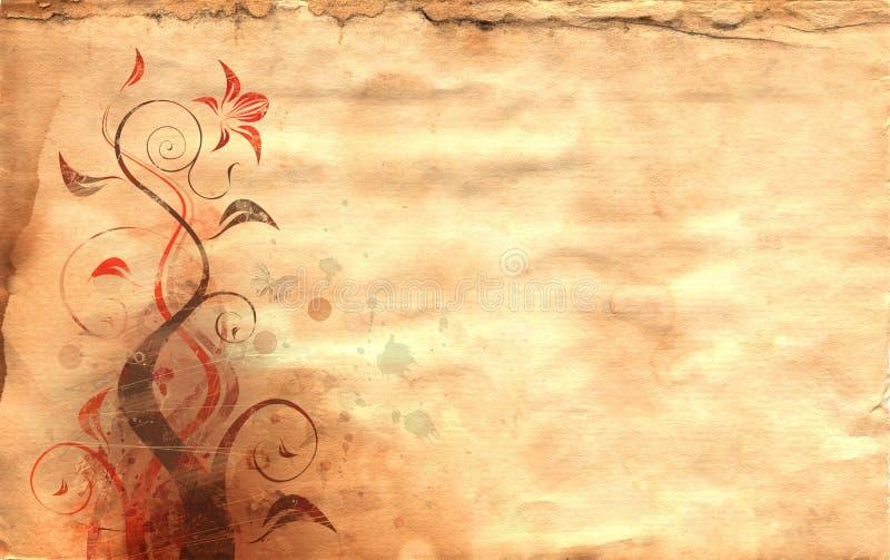 Papier antique illustration de vecteur