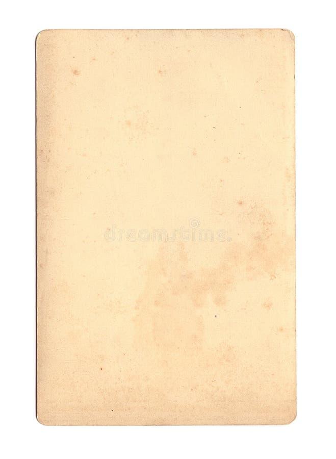 Papier antique souillé photo libre de droits