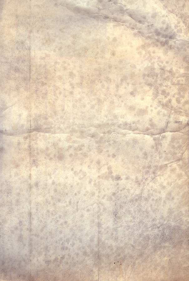 Papier antique souillé images stock