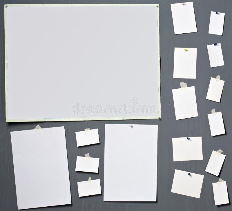Papier blanc de photo photo libre de droits