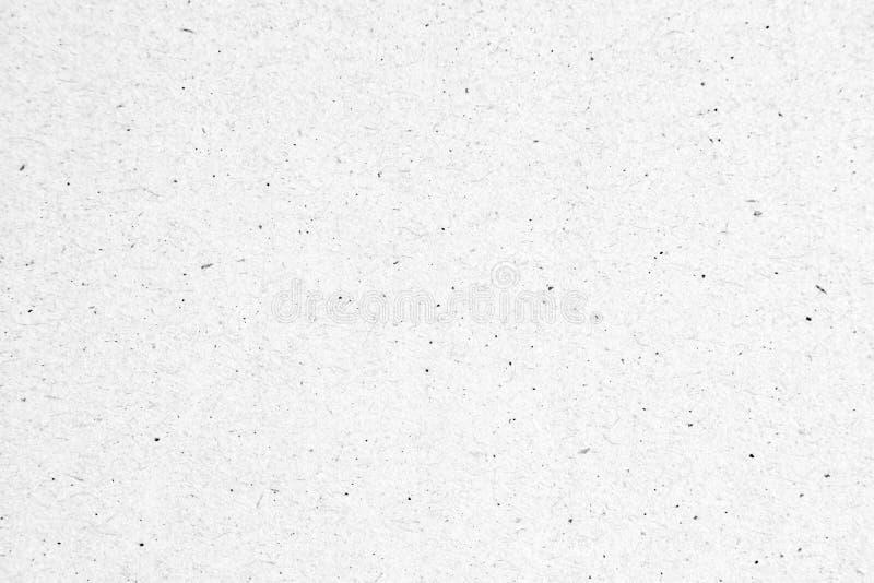 Papier blanc ou carton avec fond de texture en tache noire image stock