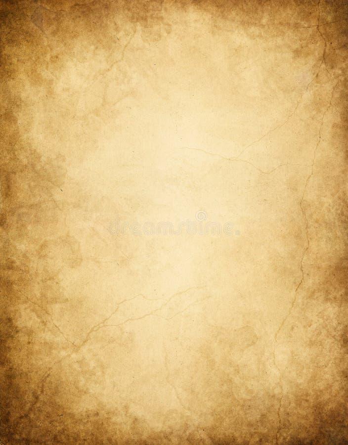 Papier bordé foncé image libre de droits