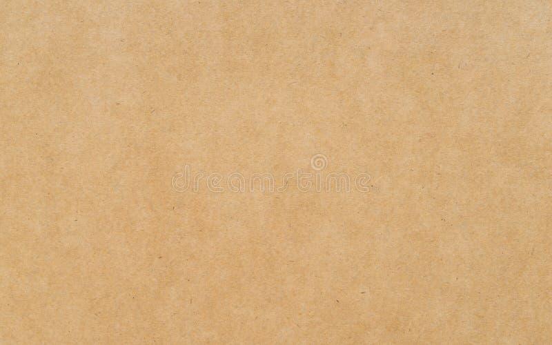 Papier brun de texture de carton photo libre de droits