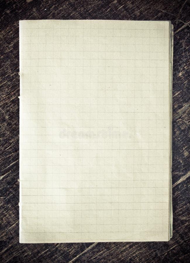 Papier Checkered Photos stock