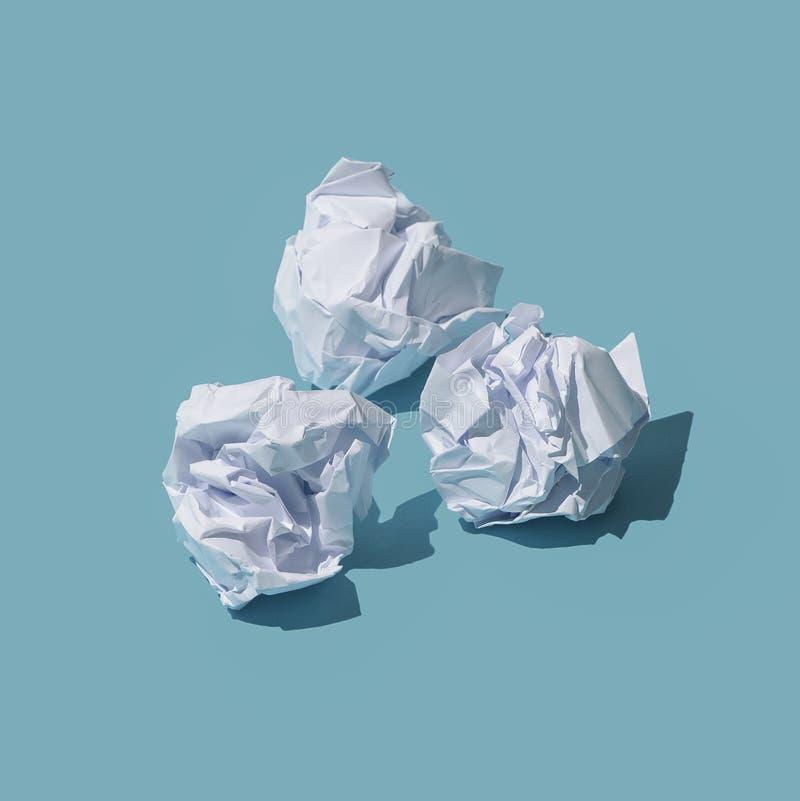 papier chiffonn? par billes illustration stock