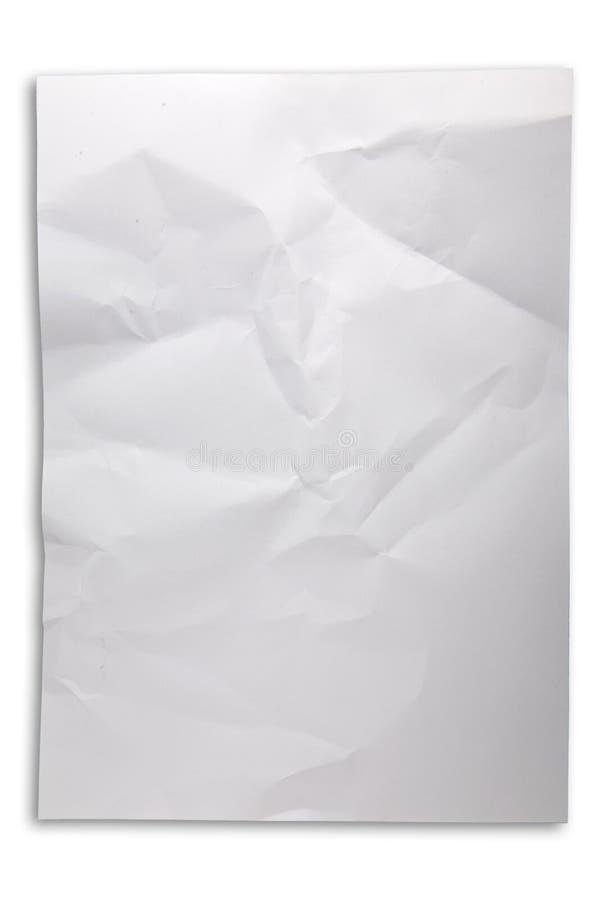 Papier chiffonn? photos libres de droits