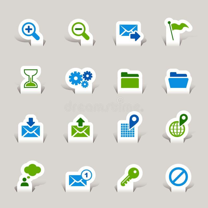 Papier Ciący - strony internetowej i interneta ikony