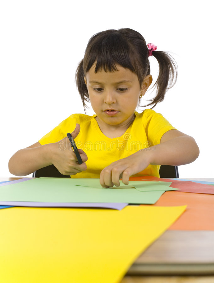 Papier coloré photos stock