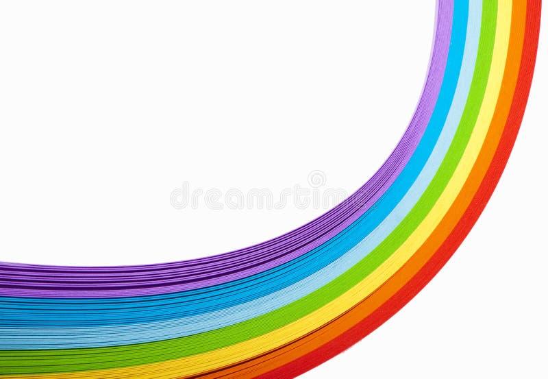 Papier coloré photos libres de droits