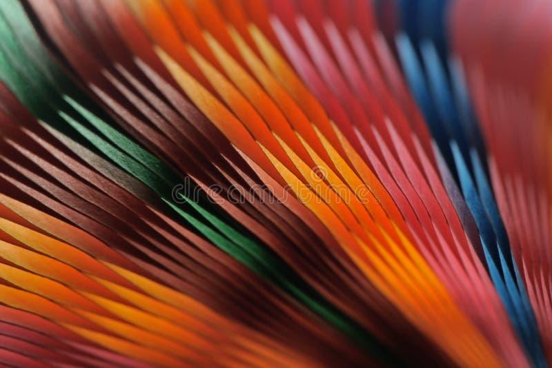 Papier coloré brouillé sur le fond photos libres de droits