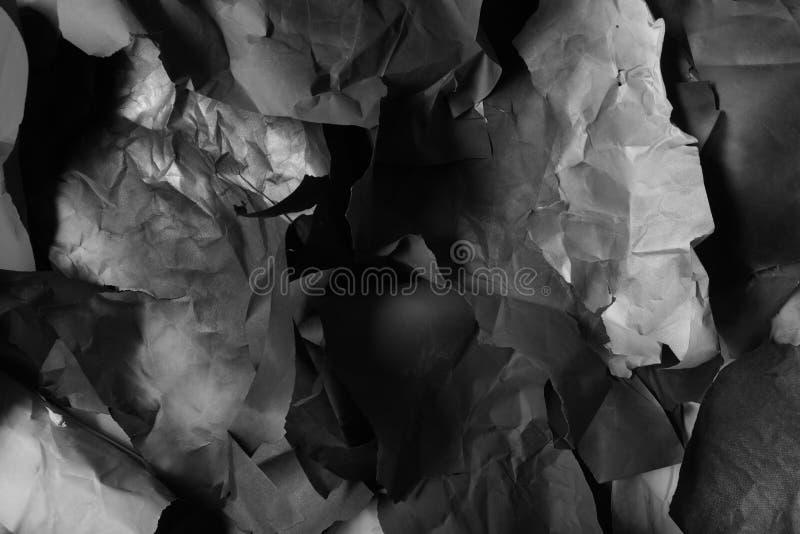 Papier coloré déchiré, texture, fond images libres de droits