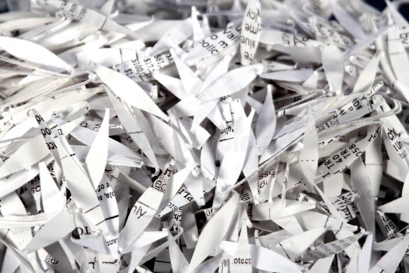 Papier déchiqueté 2 photos stock