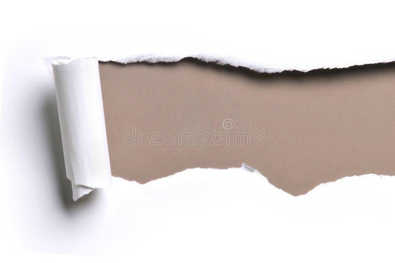 Papier déchiré photo libre de droits