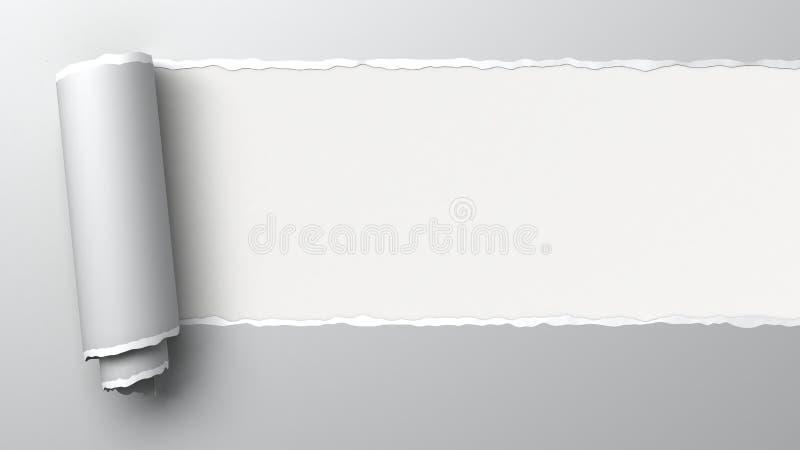 Papier déchiré illustration libre de droits