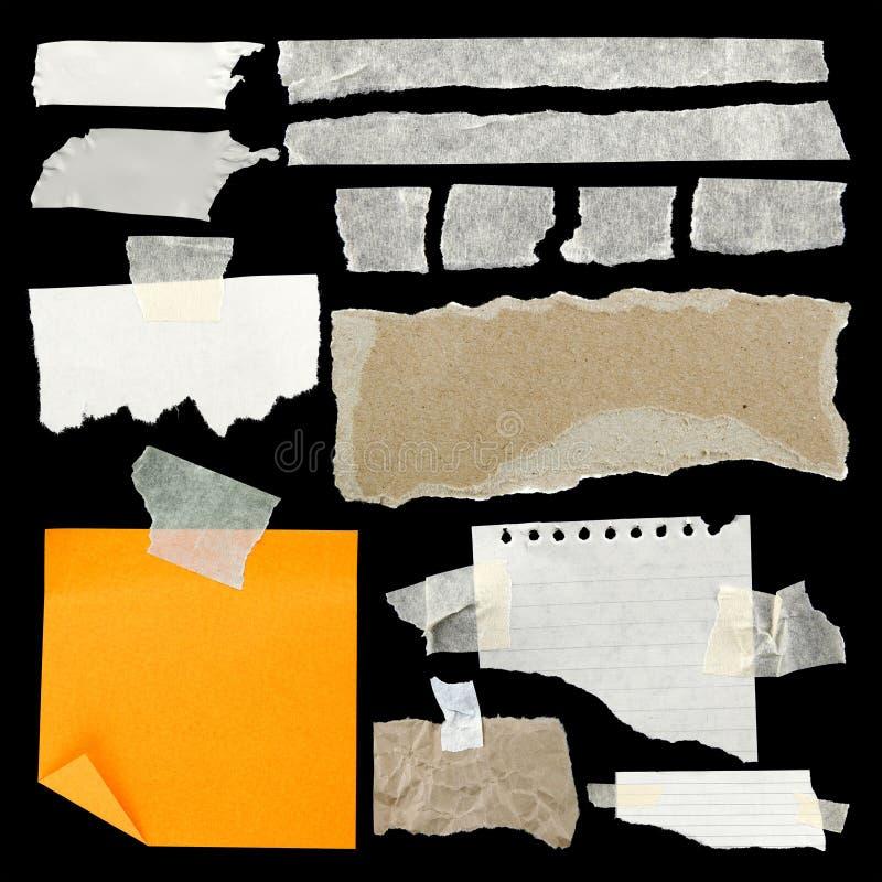 Papier déchiré images stock