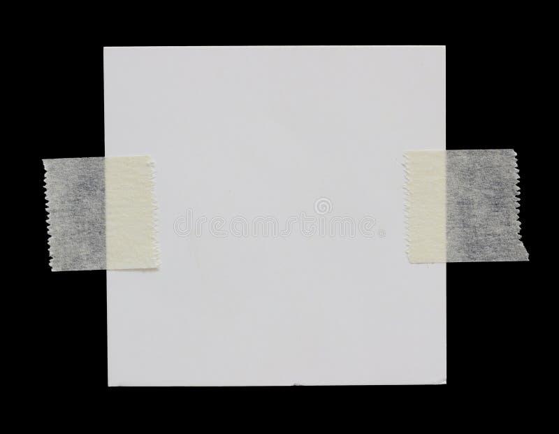 Papier déchiré de déchirure images libres de droits