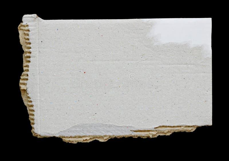 Papier déchiré de déchirure photo stock
