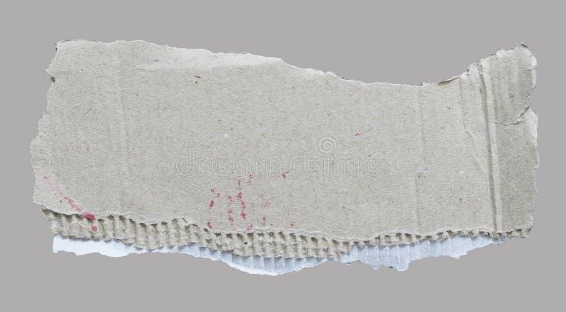 Papier déchiré de déchirure photos libres de droits