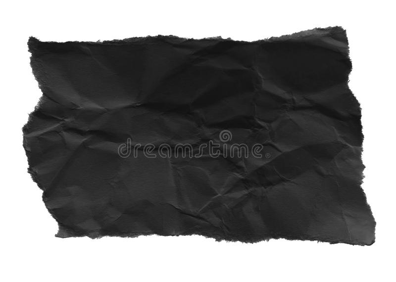Papier déchiré de déchirure image libre de droits