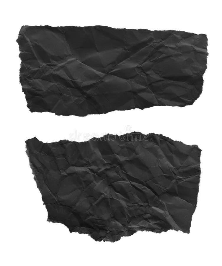 Papier déchiré de déchirure images stock