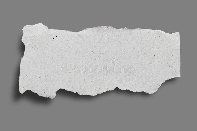 Papier déchiré de déchirure photographie stock