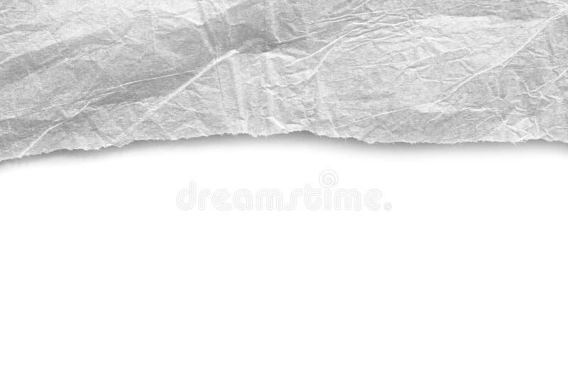 Papier déchiré de déchirure photographie stock libre de droits