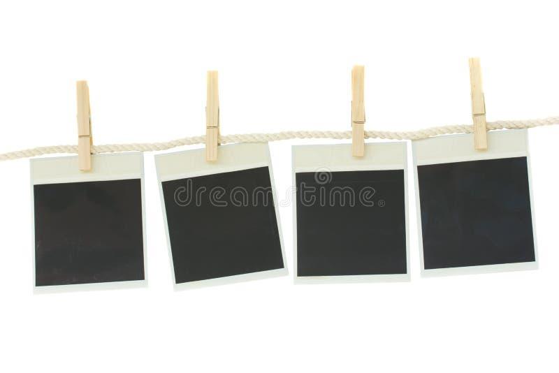 Papier démodé de photo images stock