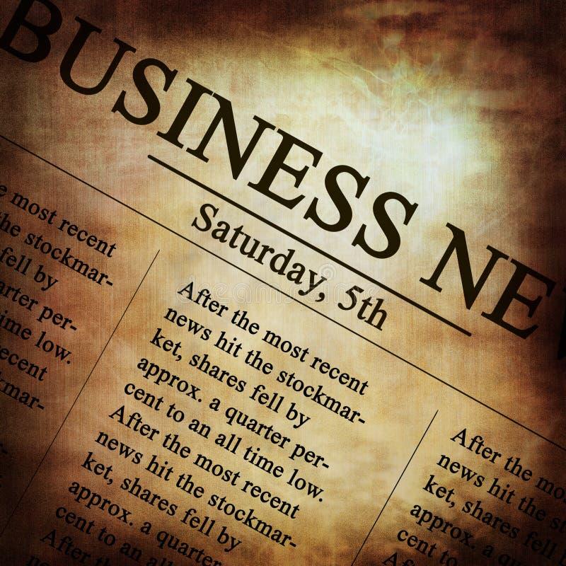 Papier d'affaires illustration stock
