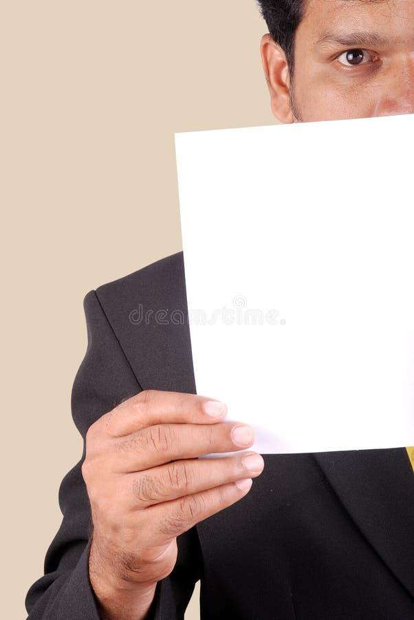 Papier d'affaires photos stock