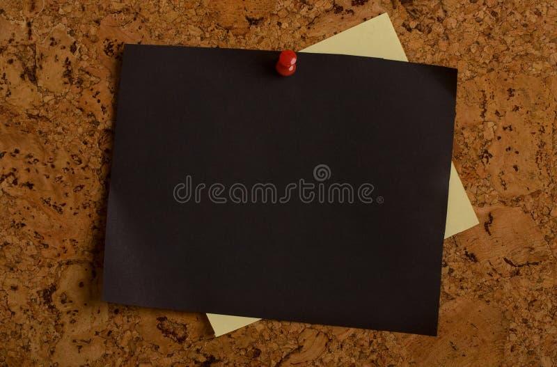 Papier d'arbre de liège photo libre de droits
