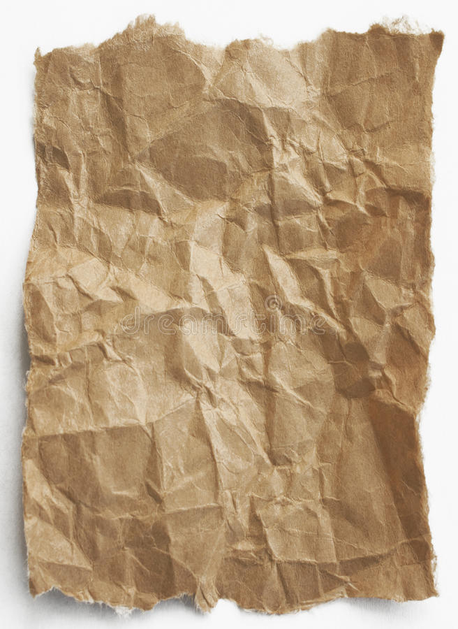 Papier de Brown photo libre de droits