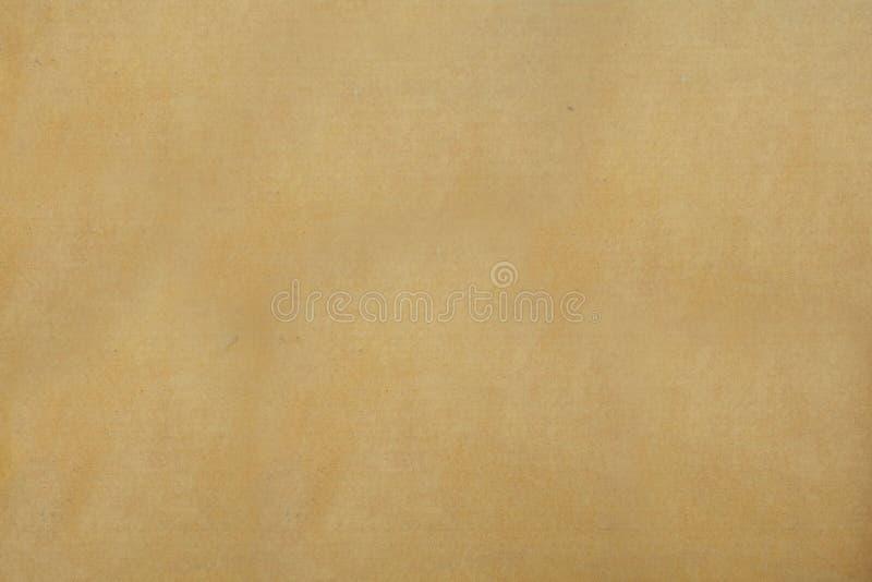 Papier de Brown comme fond Sac de papier photo stock
