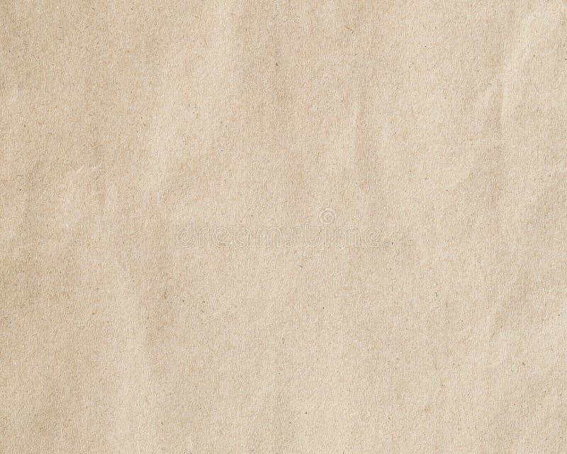 Papier de Brown pour le fond images libres de droits