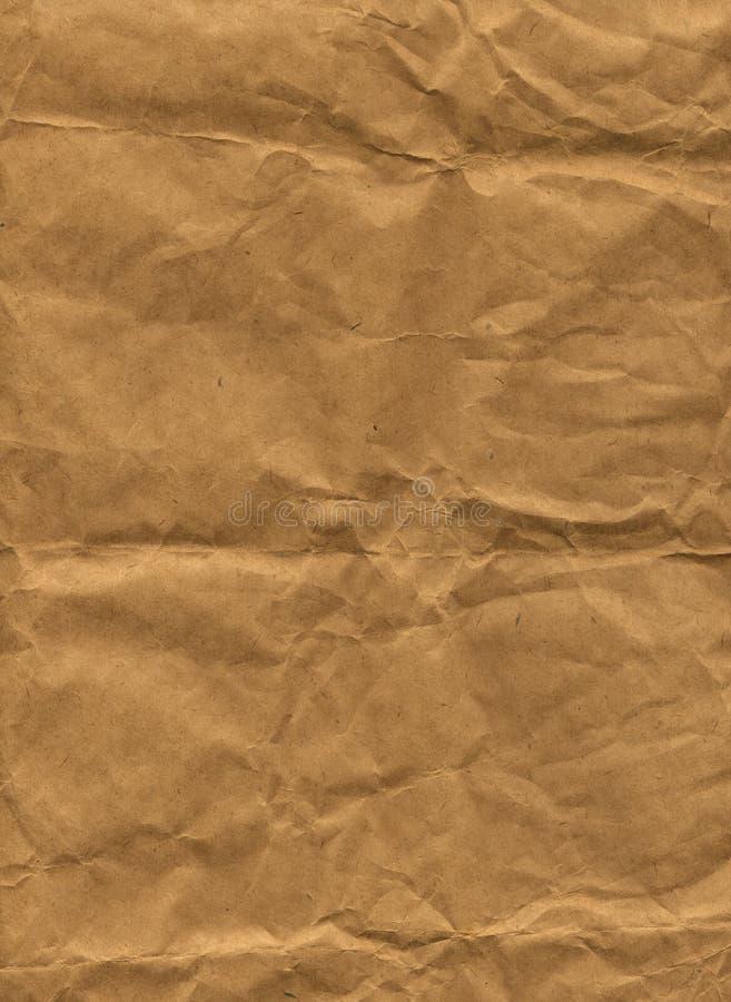 Papier de Brown (XXL) images libres de droits