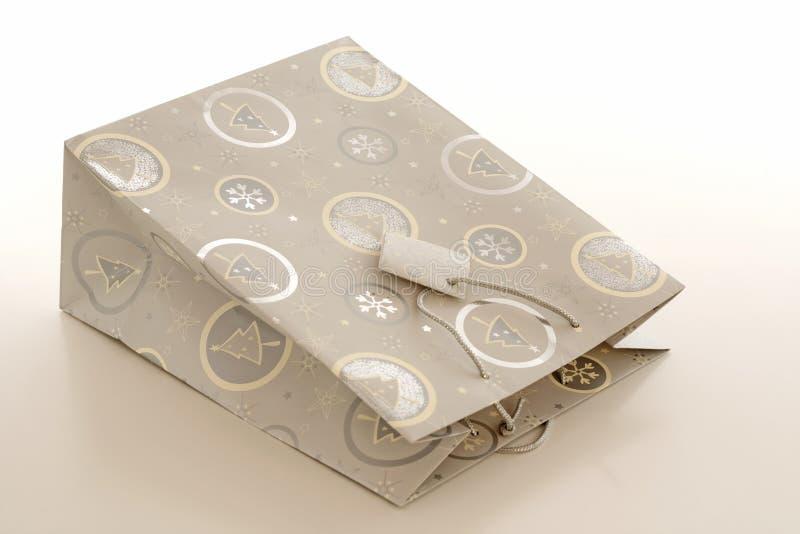 papier de cadeau de sac photographie stock libre de droits