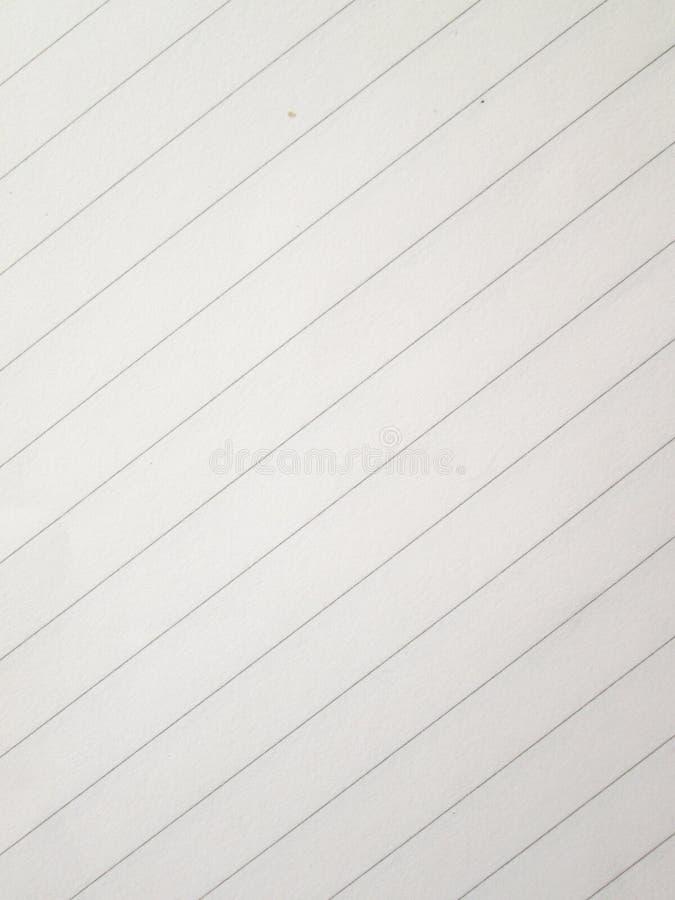 Papier de carnet photographie stock libre de droits