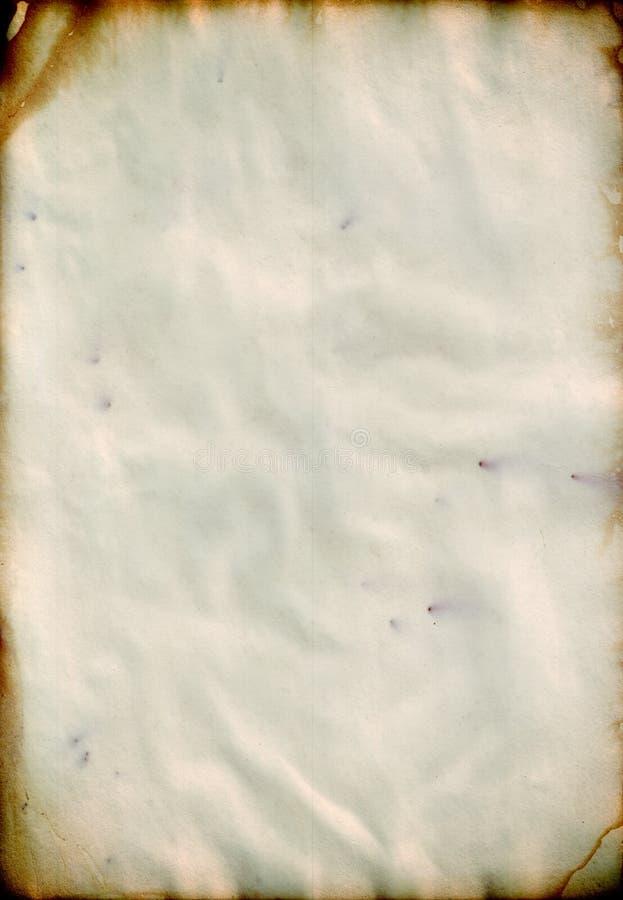 Papier de cru photo libre de droits