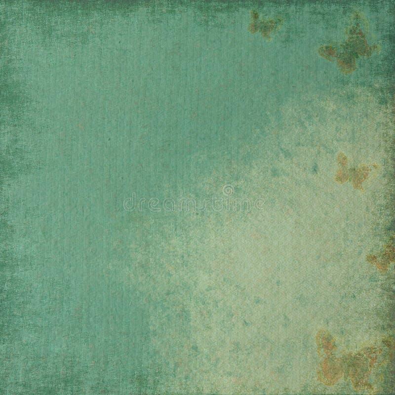 Papier de cru avec le guindineau. illustration de vecteur