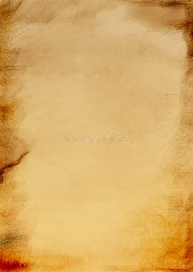 Papier de cru - fond abstrait illustration de vecteur