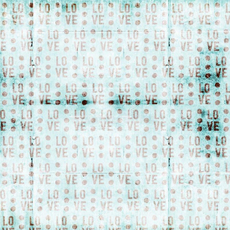 Papier de Digital d'amour illustration libre de droits