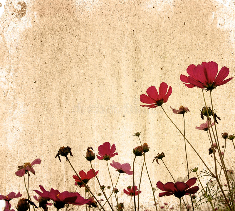 Papier de fleur illustration stock