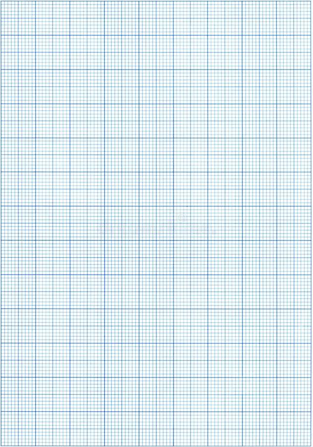 Papier de graphique bleu photo libre de droits