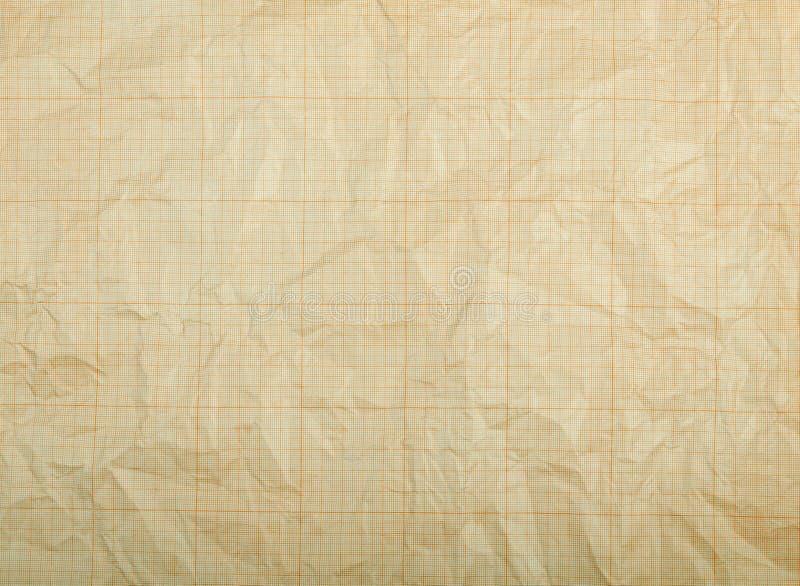 Papier de graphique sale décoloré vieux par vintage photo libre de droits